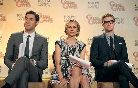 John Krasinski, Diane Kruger, and Justin Timberlake