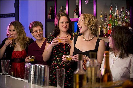 From left: Kate Palmer, Erin Mosley, Emma Hollander, Kirsten Amann, and Joy Richard.