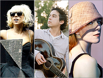 Lady Gaga, M. Ward, and Neko Case