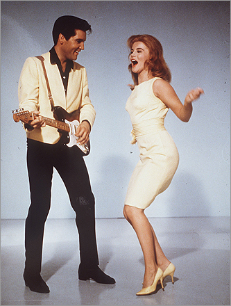 Elvis Presley and Ann-Margaret