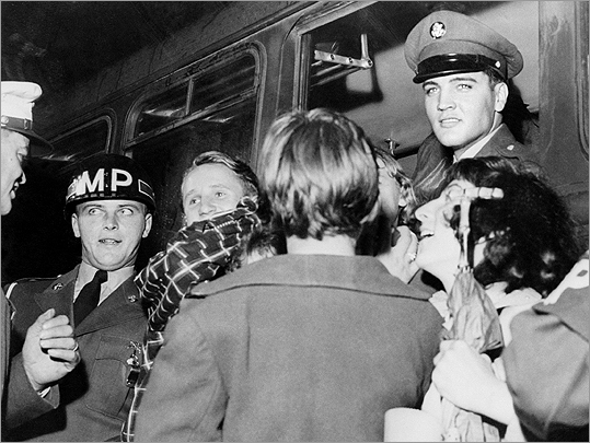 Elvis Presley in Germany