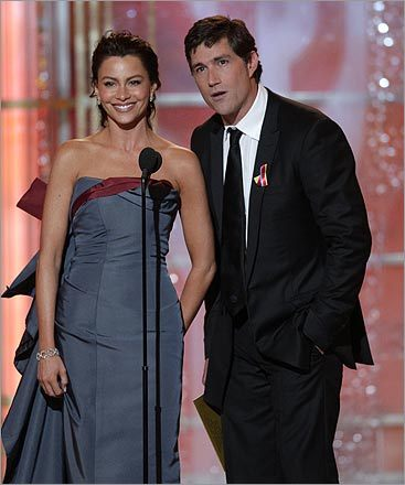 Sofia Vergara and Matthew Fox