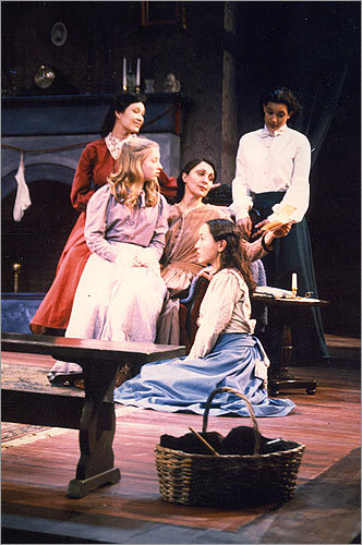 Jones got her start at the Wheelock Family Theatre in Boston, where she took on roles such as Jo in ''Little Women.''