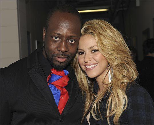 Wyclef Jean and Shakira