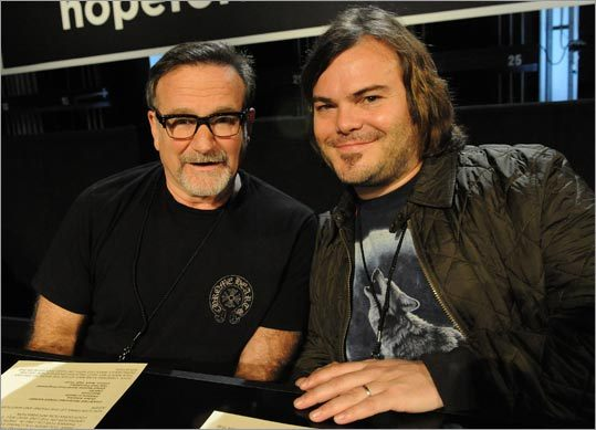 Robin Williams and Jack Black