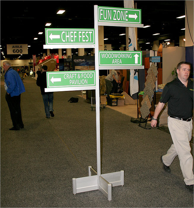 The New England Home Show , the oldest and longest-running show of its kind in the region, is celebrating its 60th year with over 500 exhibitors setting up shop in the Seaport World Trade Center. The show opens today and runs through Sunday.
