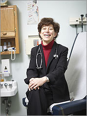 The checkup Dr. Deborah Bershel has carried on her thriving Somerville practice since her transition.
