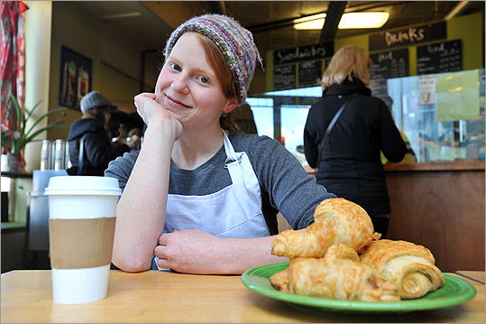 Susanne Young, co-owner of Canto 6 Bakery and Cafe in Jamaica Plain.