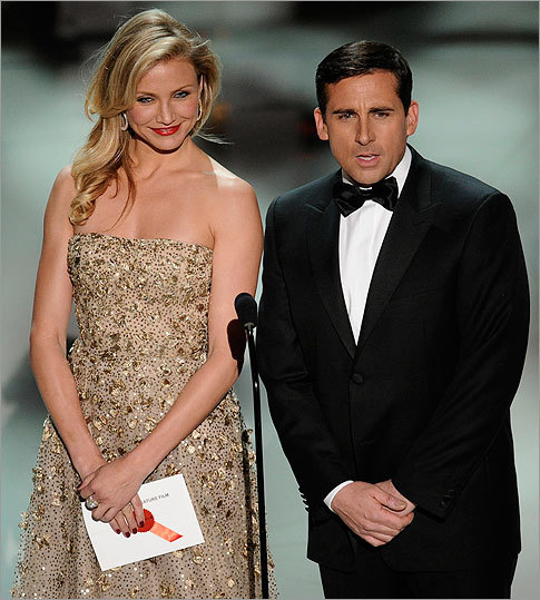 Cameron Diaz and Steve Carell
