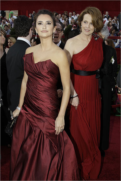 Penelope Cruz and Sigourney Weaver