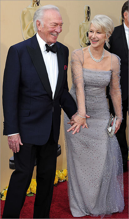 Helen Mirren and Christopher Plummer