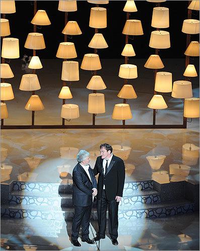 Pedro Almodovar and Quentin Tarantino