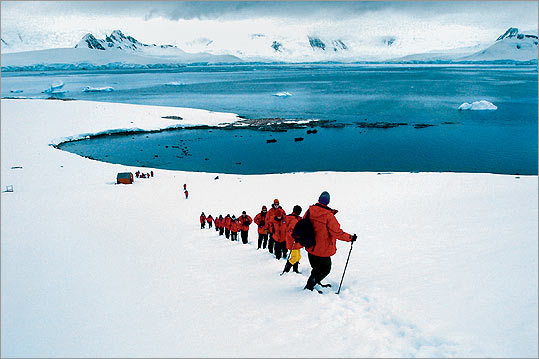 Lend a helping hand: Abercrombie & Kent Philanthropy's Antartica voyage.