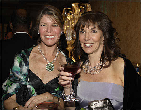 March 27 in Boston From left: Leslie O'Neil and Lillian Lippis, both of Hingham.