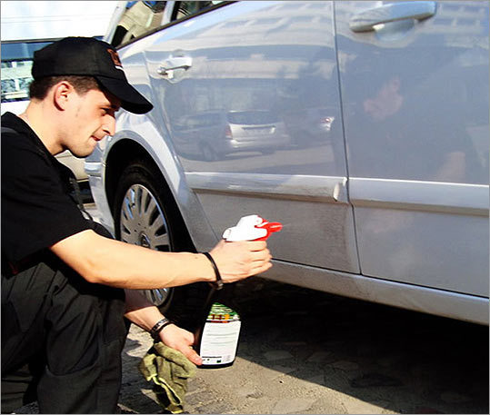 "Waterless soaps There are a number of them on the market — such as Freedom Waterless Car Wash (pictured) and Laura Klein's Green Car Waterless Car Wash & Shine — that claim to save hundreds of gallons of water per car per year. Just spray and wipe off the grime. Klein's soap ""is made with plant-based, nontoxic ingredients so it won't contaminate our waterways or harm wildlife or pets,'' says the company's website. Sounds good, right? Well, before you buy, make sure you read all the ingredients, as no one's monitoring such green claims, says Jonathan Scott, spokesman for Clean Water Action, the nation's largest grass-roots water issues group. And if the prices scare you away — the soaps run about $20 a bottle — all is not lost, Scott says. Using a bucket, a light-mist nozzle on your garden hose, and a squirt of dishwashing liquid, all you need are a few gallons of water to wash a car, he says."