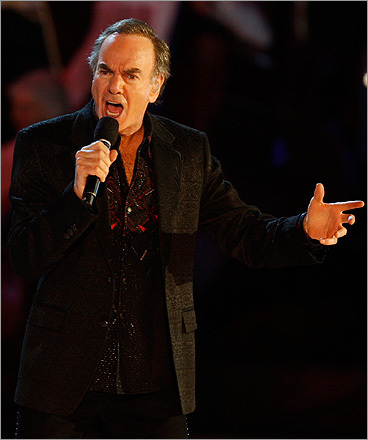 Neil Diamond performed 'Sweet Caroline' — a Red Sox Nation favorite — at the Boston Pops Fireworks Spectacular in 2009.