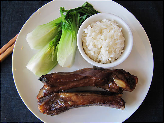 Chinese-style pork spare ribs