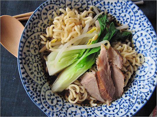 Pork-noodle ramen