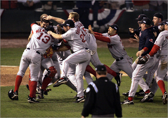 The Red sox in 2004
