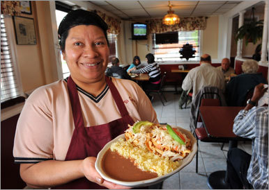 Another family pleaser is Tu Casa ( 70 Washington Ave., 207- 828-4971, www.tucasaportland.com ). It serves authentic Salvadoran fare — similar to Mexican, but lighter — in a no-frills dining room. There's a window for take-out orders, but grab a seat for table service. Begin with the appetizer puposas, the national dish of El Salvador, move onto the enchilada Salvadorena, or maybe the pollo enmole, marinated chicken paired with the homemade mole sauce. Escape with your wallet intact; nothing costs more than $12, and most items are far less.