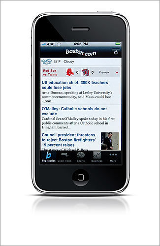 DON'T FORGET You can get Boston.com and The Boston Globe to go. WORKS WITH Android, iPhone, mobile Internet COST free INFO boston.com/mobile