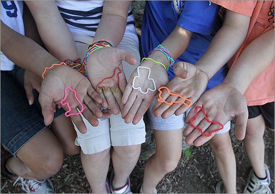Silly bands meet all the requirements of a modern craze. They've nabbed the top-selling spots on Amazon's toys and games category. Kids can't stop talking about them. Parents are fighting over limited supplies, according to one manufacturer. Schools are banning them. A-list celebrities are reportedly requesting customized packs for fans. And, of course, there's the requisite Facebook page, Twitter feed, and YouTube videos.