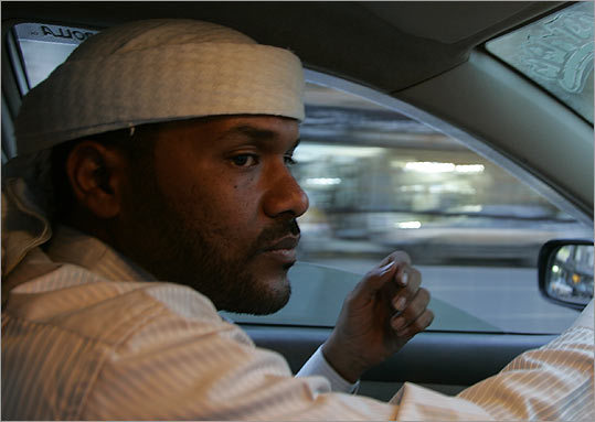 bu Jandal, once Osama bin Laden's personal bodyguard, now drives a taxi in Yemen.