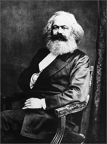 Karl Marx Known primarily as one of the authors of 1848's 'The Communist Manifesto,' the German philosopher was also known to sport bow ties. Perhaps we'd even be able to see it, if his beard weren't in the way.