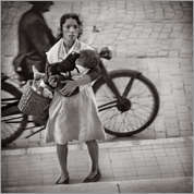 'Mother and Child, Malaga, Spain'