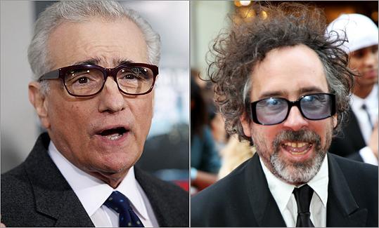 Martin Scorsese and Tim Burton