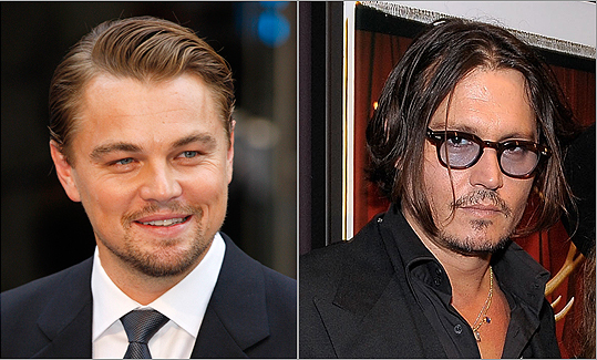 OSCAR NOMINATIONS/WINS Both Leonardo DiCaprio and Johnny Depp have received three Oscar nominations apiece, though neither actor has ever won.