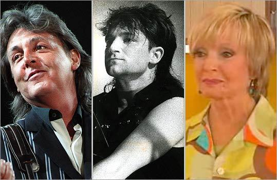 Short on top, long in the back, the mullet has been worn by beloved pop culture figures from the Sphinx to Paul McCartney (left) to Florence Henderson (right). A style staple throughout history, it exploded in popularity in the 1980s, sucking in everyone from Bono (center) to Steve Perry of Journey to ninth grade boys across the United States. En route, it became one of the most loathed styles, writes Globe correspondent Beth Teitell . See its progression through the sporting, music, film, and television worlds, and its unlikely climb to a pedestal of mockery previously unseen in fashion.