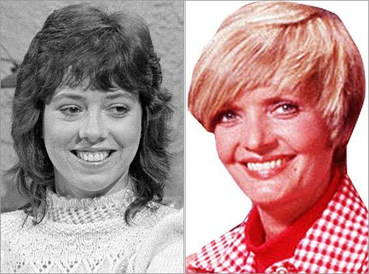More famous female mullets It wasn't just female rockers paving the way for the mullet. Florence Henderson (right), better known as Carol Brady on 'The Brady Bunch,' sported an early mod version of the haircut, and 'American Graffiti' actress Mackenzie Phillips let loose the curls in the 1970s.