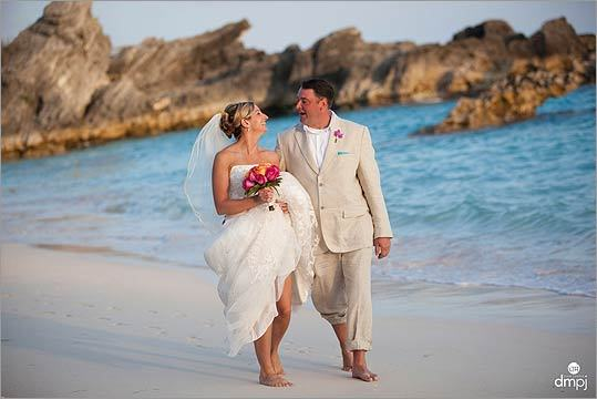 Janelle and Dana's wedding Janelle and Dana Anderson of Wilmington grew up on the North Shore but met while both were on vacation in Mexico. 'While we would have liked to have gone back to Mexico for the wedding Dana suggested a much closer location, Bermuda,' writes Janelle. 'Norwegian Cruise Line has a ship that leaves from Boston Harbor and spends two days on the island. This was a more convenient and less expensive option as most of our friends and family live in the Boston area.'