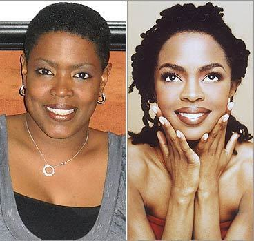 Nickey Price of Houston, Texas, often gets compared to singer Lauryn Hill. Do they look alike? survey software