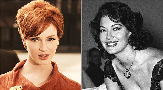 JOAN HOLLOWAY Christina Hendricks -- Ava Gardner How tempting it would be to cast Edie Adams as the curvy Joan, or even Ann-Margret or Jayne Mansfield. But I'm going with Gardner (right), who could evoke the weariness and wisdom that we know Joan has felt in her oppressive marriage.