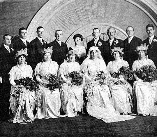 Jessie Woodrow Wilson, the daughter of President Woodrow Wilson, married Francis Bowes Sayre at the White House on November 15, 1913.