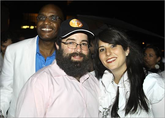 Hundreds of people hit Kneeland Street hotspot Splash for the Chabad Chai Center's Tu B'av Party. Young adults were encouraged to wear white for an evening of matchmaking and networking in celebration of the 2,000-year-old holiday.