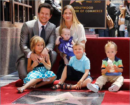 Rapper-turned-underwear model-turned-Oscar-nominated actor Mark Wahlberg has been enshrined in the Hollywood Walk of Fame. The 39-year-old actor and Dorchester native was presented with a star on Hollywood Boulevard's famed sidewalk monument.