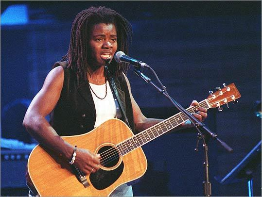 Tracy Chapman's self-titled first album was released in 1986. The single, 'Fast Car,' hit number six on the Billboard chart.
