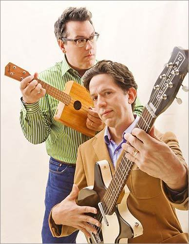 They Might Be Giants The quirky duo, comprised of John Flansburgh (left) and John Linnell, have done things their way since meeting in Lincoln. After two decades of making pop music on major labels, they won a Grammy in 2002 for penning the theme to 'Malcolm in the Middle,' and recently, have moved into recording children's music. In May, they came to Arlington to help Flansburgh's mother .