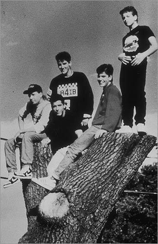 5. New Kids on the Block The other boy band on this list dominated the charts in the early 1990s and put together a hot ticket comeback in 2008. Pictured: The group on Nov. 21, 1989.