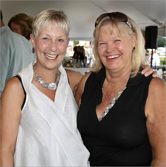 Joannie Jaxtimer of Milton and Maureen Cronin of Osterville.