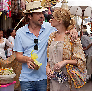 Julia Roberts' character in 'Eat Pray Love' struck romantic gold in Bali.