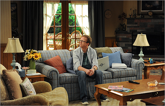 Chris Gethard stars as a former Wall Street whiz kid who ends up back at home in 'Big Lake.'