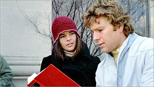 16. ' Love Story ' (1970) Ah, love at Harvard. Ali MacGraw and Ryan O'Neal give this movie a shot of life as classmates who fall in love despite coming from vastly different backgrounds.