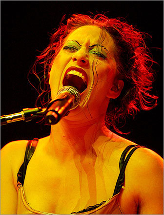 Palmer performed with her band the Dresden Dolls during the kickoff of the first annual True Colors Tour in Las Vegas in 2007. Proceeds from the show went to equal rights organizations.