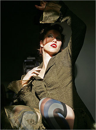 The Globe Sunday Magazine recently named Palmer one of Boston's 25 Greatest Pop Music Acts -- Palmer and her band Dresden Dolls came in at number 20. See the complete list