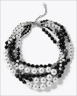 "PEARLS, BY THE BUNCH Give whatever you're wearing a dash of Victorian elegance with pearls, lots of them. ""The more, the merrier,'' says Neiman Marcus fashion director Ken Downing. ""It's about multiple strands and layers at a time.'' Mix faux pearls and real pearls, á la Coco Chanel. Or add a bit of fun by mixing pearl and chain or chain links and pearl on the same necklace, suggests Lesia Stanchak, owner of Brookline boutique Zia."