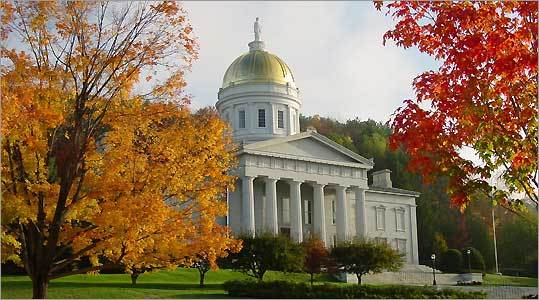 The Vermont State House.